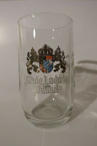 Konig Ludwig Dunkel .5 Liter German Beer Glass Mug