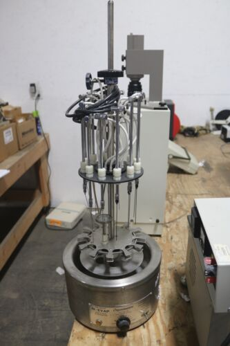 THE MEYER ORGANOMATION N-EVAP MODEL 111 ANALYTICAL EVAPORATOR