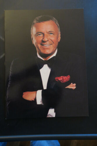 Frank Sinatra 1990 tour book