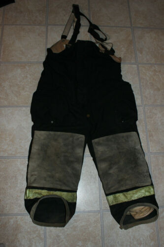 GLOBE Firefighter Bunker Turnout Pants 38 x 24 Halloween Costume