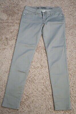.. Womens Jeans Pants gray size 7 juniors Low Rise Skinny stretch  7 Jeans Womens Juniors Pants