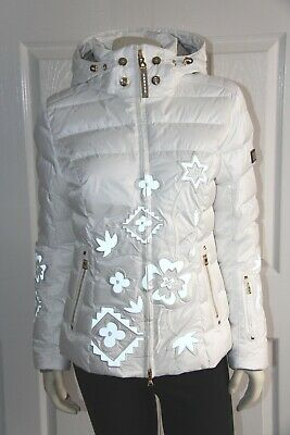 Bogner Cyra-D Down Ski Jacket Women s - Size 38 US 8 Medium - White - NEW 1c3f67464