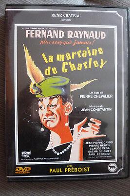 DVD la marraine de charley 1959 rené chateau TBE fernand raynaud