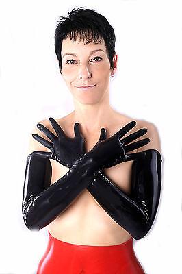 Latex Handschuhe Gr, XL, oberarmlang, getaucht, Kunzmann Handel Xl Lange Handschuhe