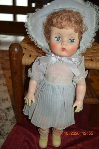 Vtg Doll by Allied Grand doll company 1915-1980 w/ original Dress/hat/socks/shoe