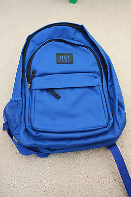 NWT Abercrombie & Fitch KIDS Boy Backpack -Blue