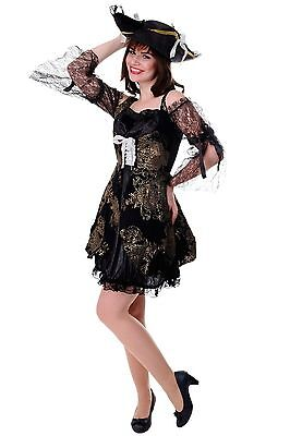 DRESS ME UP Kostüm Damen Kleid Funkenmarie Barock Piratin Seeräuberin Gr. - Nicht Dress Up Kostüm