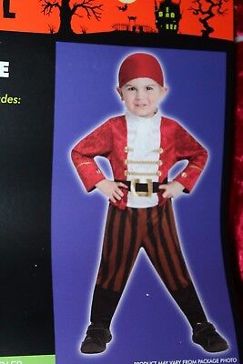 Totally Ghoul Infant/Toddler Little LIL' Pirate Boy Halloween Costume 1-2 Years