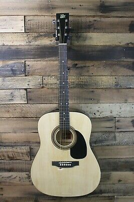 Rogue RA-090 Dreadnought Acoustic Guitar- Hole in body  #R3384