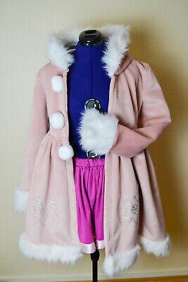 Luka Megurine Vocaloid Cosplay Kostüm Schnee Mantel