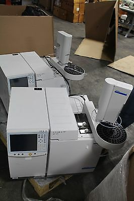 Varian Bruker 450-gc Gas Chromatograph With Cp-8400 Autosampler Working