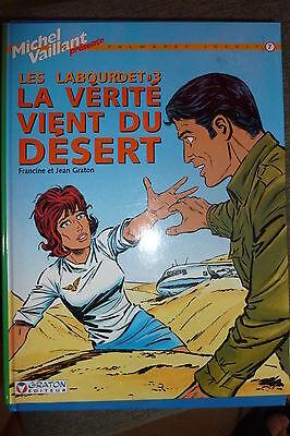 BD les labourdet n°3 la vérité vient du desert  2003 TBE michel vaillant