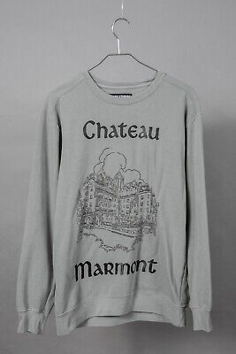RARE supreme STEEZY STUDIOS acne CHATEAU MARMONT hotel SS20 beverly SWEATSHIRT M
