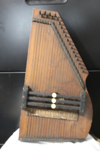 VINTAGE ZIMMERMAN AUTO HARP ORIGINAL ALL INTACT PLAYS WELL PRE 1930