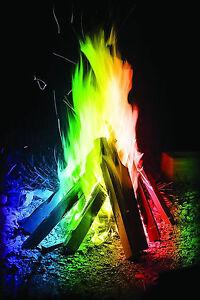 10 Packs Mystical Fire Magic Colour Changing Flames Pit bbq Bonfire Fireworks