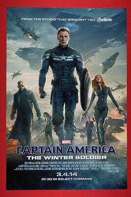 Captain Marvel Large Movie Poster MCU Canvas 20X30 Glossy Photo Paper 24X36