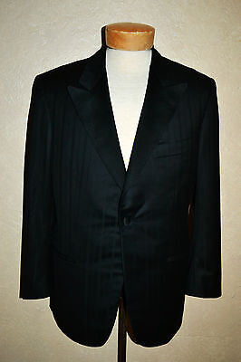 NWT $3250 Kiton 39/40S Wool/Cashmere 1Btn Stripe Tux Tuxedo Jacket Neiman Marcus