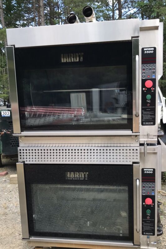 Oven Double Stack Gas Rotisserie Hardt Inferno 3500