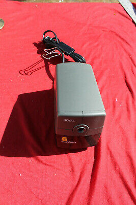 Royal Power Point Electric Pencil Sharpener With Auto Stop