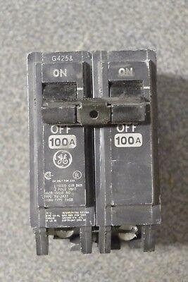 Ge Thqb21100 Thqb 2p 120240v 100 Amp Bolt In Circuit Breaker - Tested
