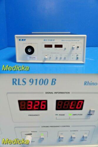 KAY Pentax RLS 9100 B Rhino-laryngeal Stroboscope *TESTED & WORKING* ~ 21645