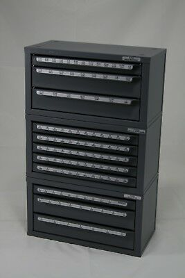 Huot Drill Bit Dispenser Organizer Cabinet 13000 13025 13050 Frac Num Let