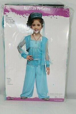 Brand New Fun World Arabian Princess Genie Girls Toddler Costume - Arabian Princess Costume For Girls