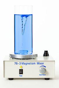 6042-Magnetic-Stirrer-Magnetische-Mixer-Magnetruhrer-EU-Plug