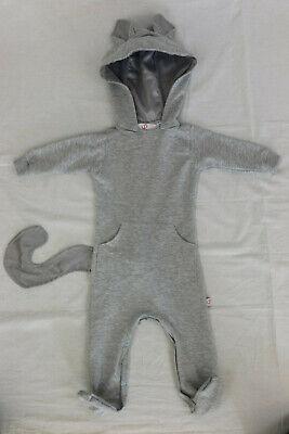Diamentowe Baby Jungen Mädchen Gr.62 Strampler Overall Jumpsuit Katze Kostüm - Baby Junge Katze Kostüm