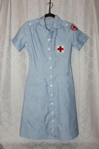 Vintage American Red Cross Volunteer Dress Cap 1940s Era EXCELLENT