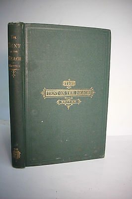 Rare 1867 First Issue John Greenleaf Whittier   Tent On The Beach  Vg Condition