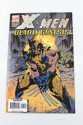 X-Men Deadly Genesis #1 Variant Cover Ed Brubaker Vf/nm Marvel Comic