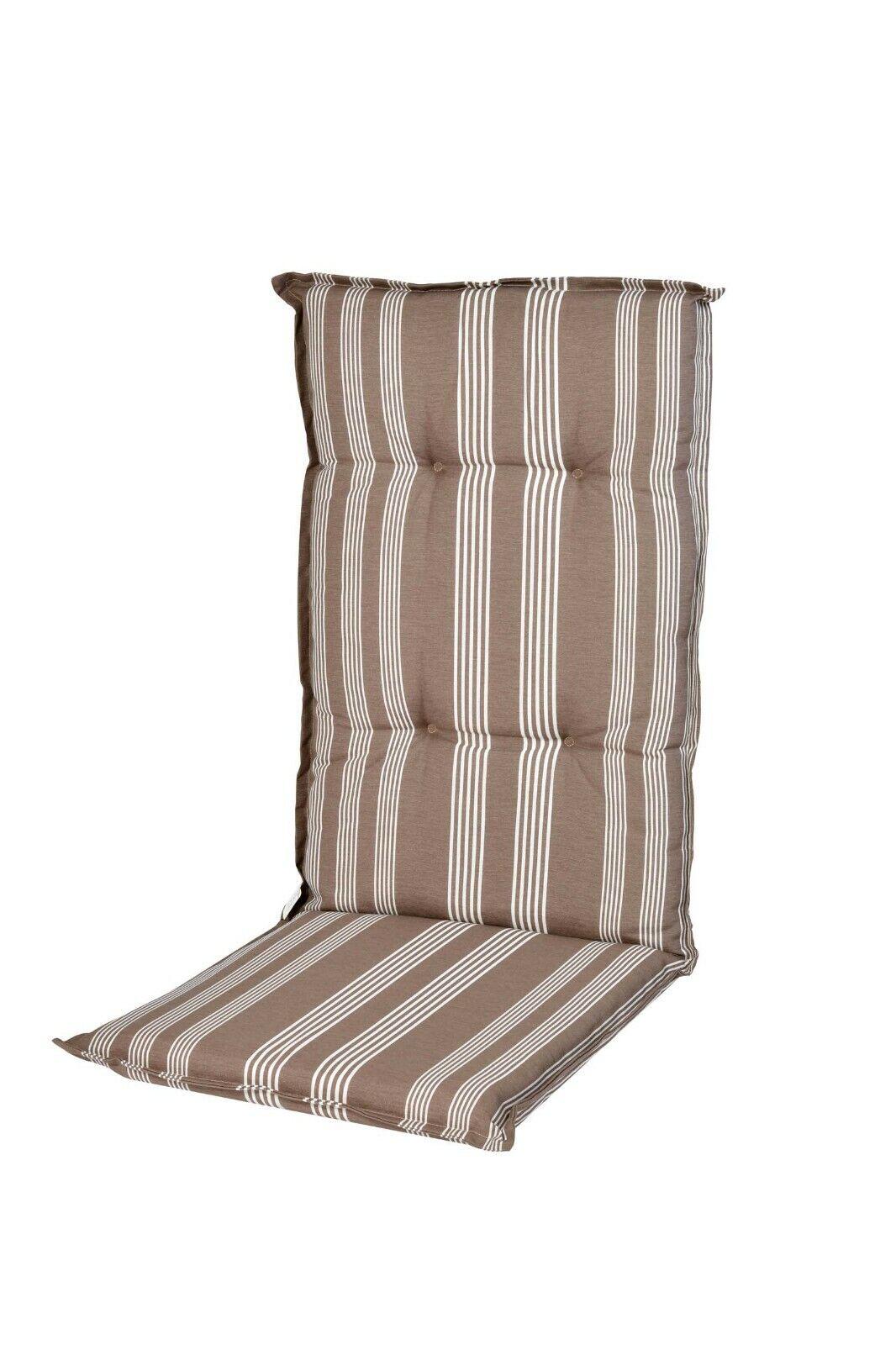 Auflagen für Hochlehner Gartenstühle Kissen Polster Sitzpolster