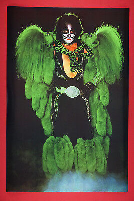 Peter Criss of Kiss Rock Band Cat Costume Promo Poster 24X36 New     KCRS