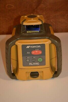 Topcon Rl-h4c Rechargeable Rotary Laser Level With Ls-80l Receiver