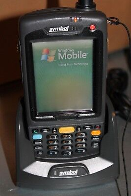 MOTOROLA Symbol MC7094 PUCDJRHA7WR PDA SCANNER CODICE A BARRE + CRADLE CRD7000 ()