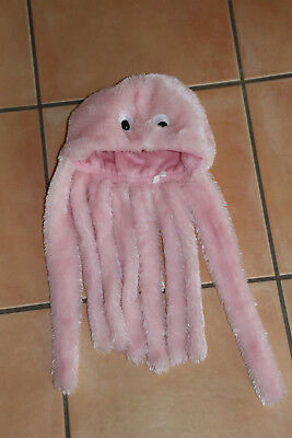 Kostüm Perücke Kappe Krake rosa onesize 8 Tentakeln - Oktopus Kostüm