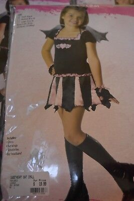 Sweetheart Bat Girl's Child's Halloween Costume size Large 12-14 by Funworld](Child's Bat Costume Halloween)