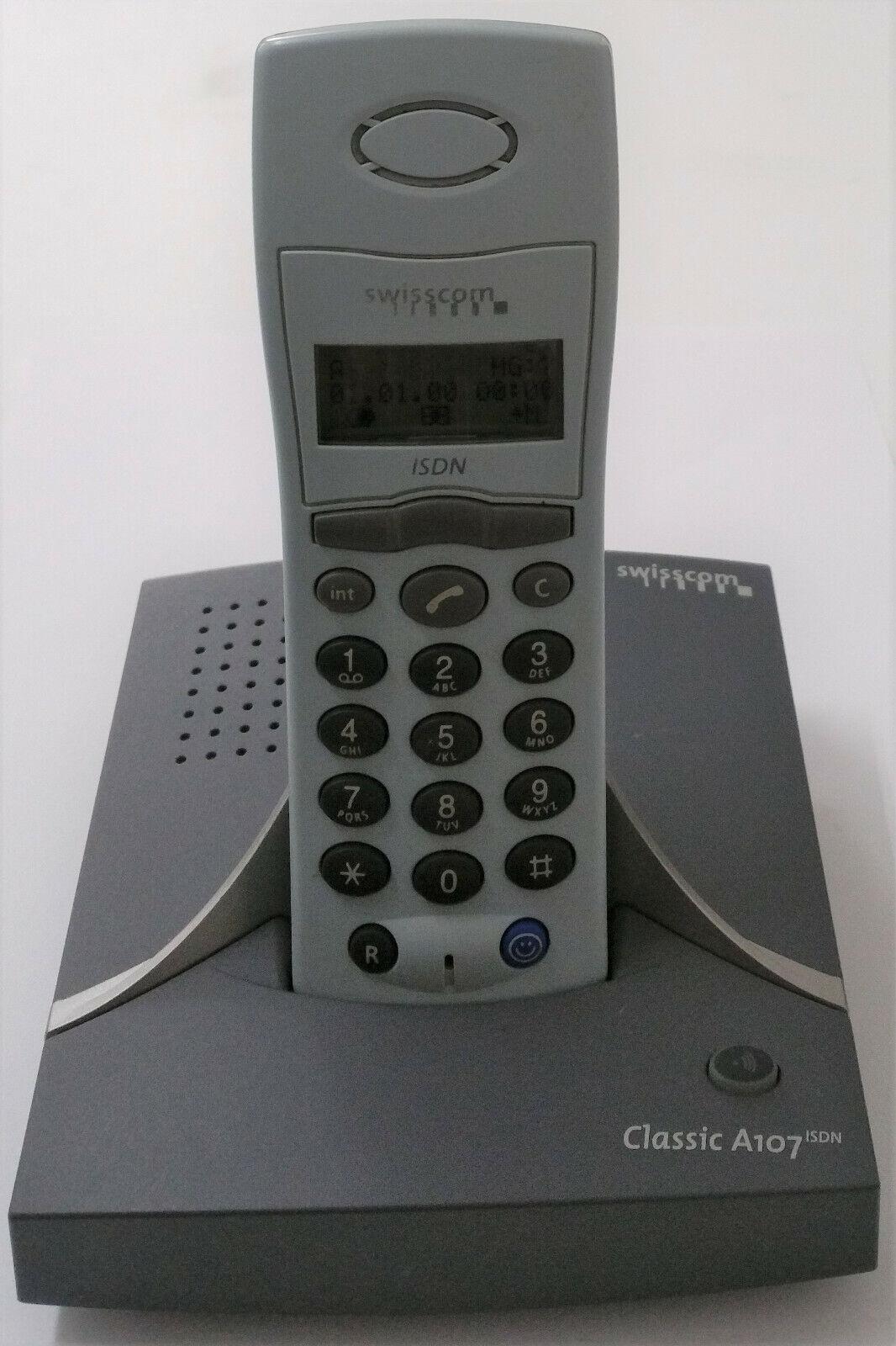 Funktelefon Swisscom Classic A107 ISDN