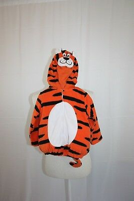 Carters Child Costume Size 24m Orange Black Hooded Tiger with Tail](Baby Tiger Costumes)