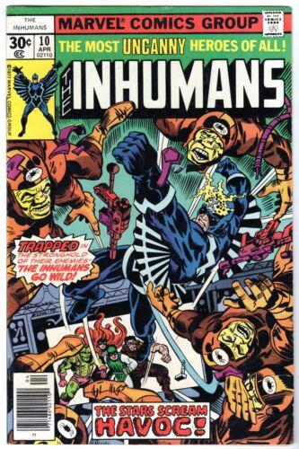 Inhumans #10, Very Fine Condition*