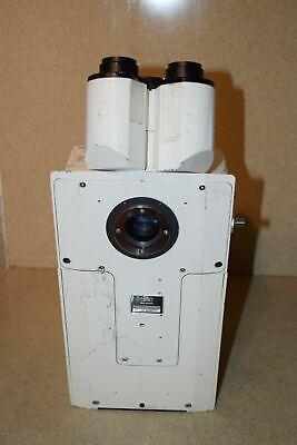 Jm Carl Zeiss 451938 Electronic Microscope Head W Camera Adapter