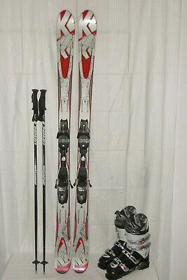 + poles size 1 junior boots 97 cm Head junior skis bindings mondo 20.5