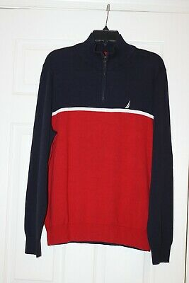 Mens Nautica Sweater size XL NWT