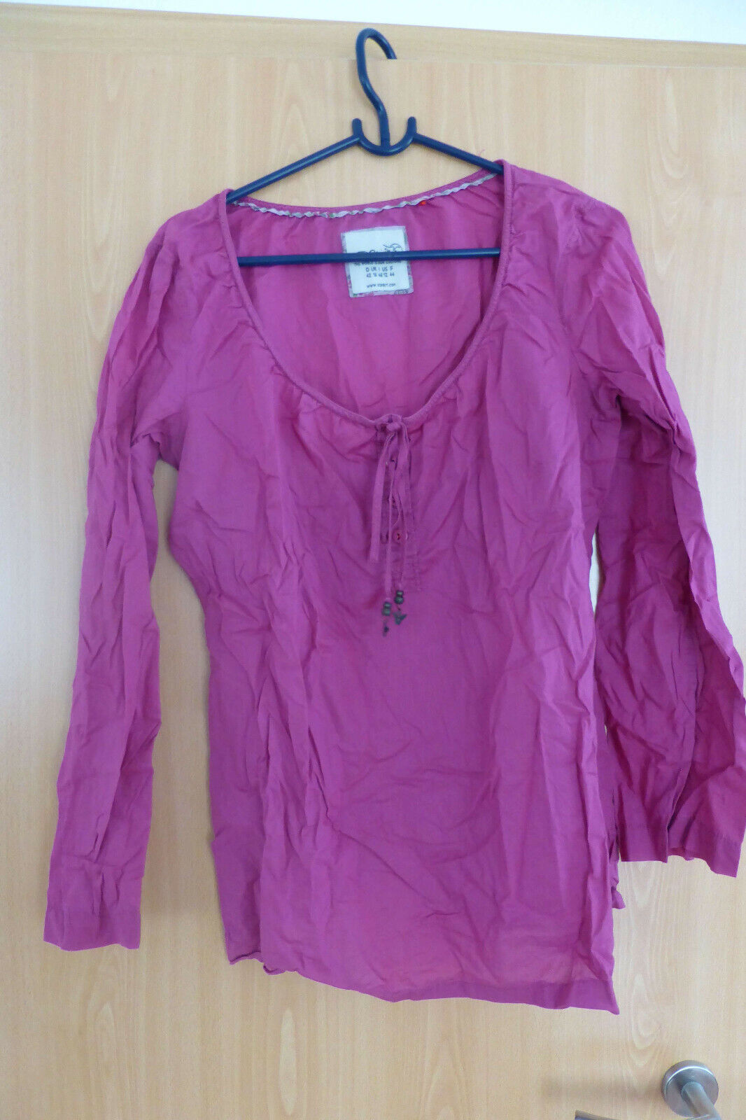 Damenbluse, langarm, rötlich-pink, Esprit, 42
