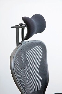 New Atlas Headrest. Ergonomically Optimized For Herman Miller Aeron Chair.