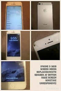 iPhone 5 32gb Cranebrook Penrith Area Preview