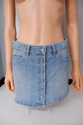 Isabel Marant Blue Denim Skirt Size 38 Uk 6-8 Vgc Bottom Up Women's