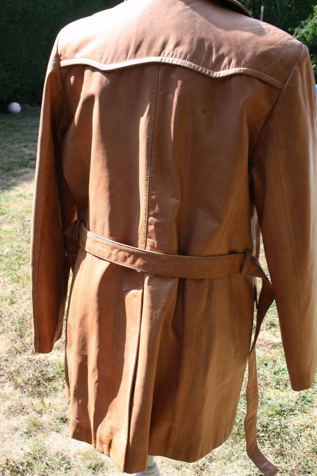 Trench cuir corty bennet