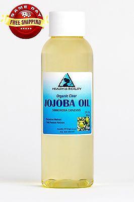 JOJOBA OIL CLEAR ORGANIC by H&B Oils Center COLD PRESSED PRE